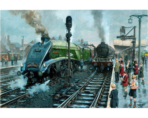 Spotters at Doncaster by David Noble GRA
