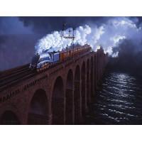 Moonlight Over The Tweed by John Austin FGRA