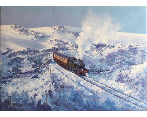 Winter on Dartmoor by John Austin FGRA