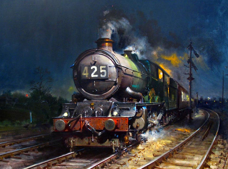 Railway Terence Cuneo Paintings
