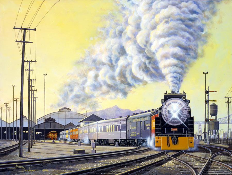 Christmas Electric Train