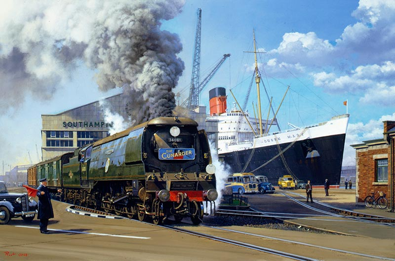 Railway Artist Malcolm Root FGRA