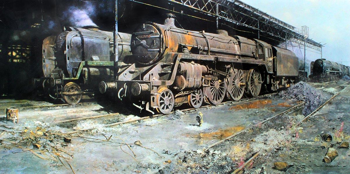 Railway Art Gallery David Shepherd border=