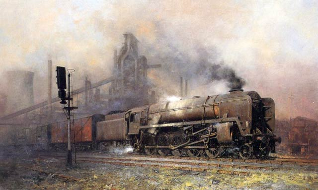 Steam Train Paintings Uk