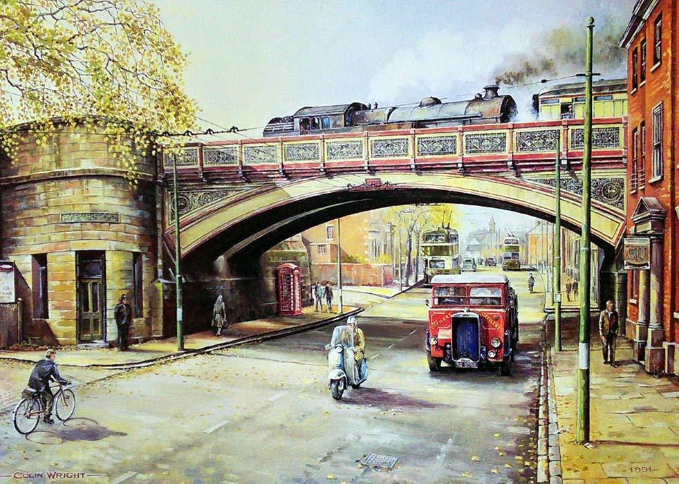 Railway Artist Colin Wright