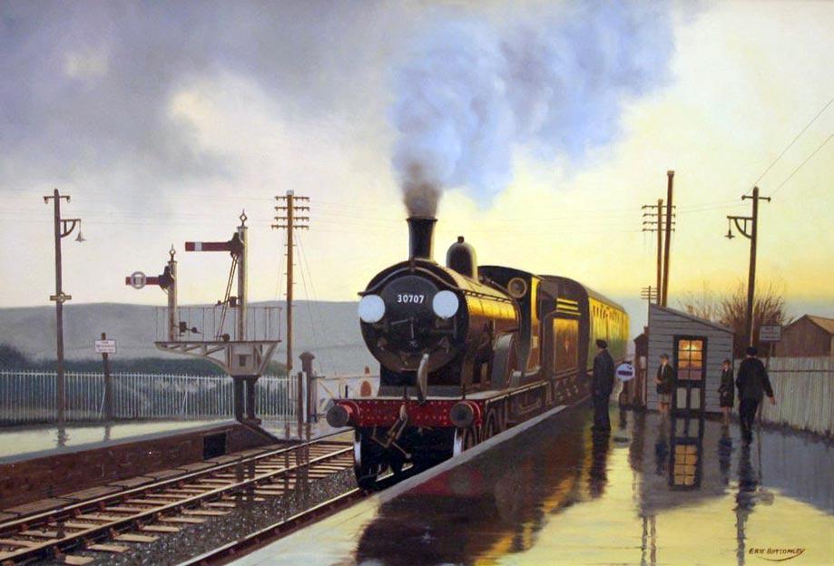 D Art Exhibition Uk : Guild of railway artists art gallery trains locomotives