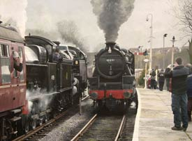 Stanier Black 5 steam engines