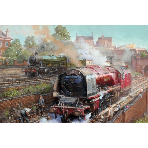 Duchess on Camden Bank by David Noble