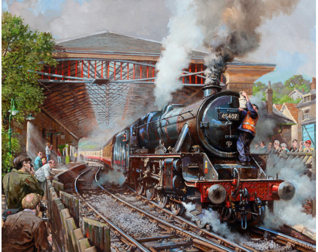 Pickering Station by David Noble