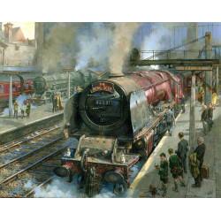 Spotters At Carlisle by David Noble