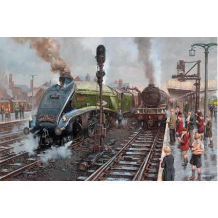 Spotters at Doncaster by David Noble