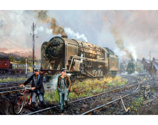 Steel Shires by David Noble