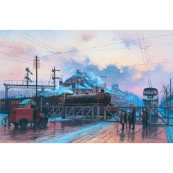 Anlaby Road Crossing - Hull by Eric Bottomley