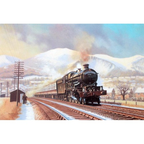 Cathedrals Express at Malvern by Eric Bottomley
