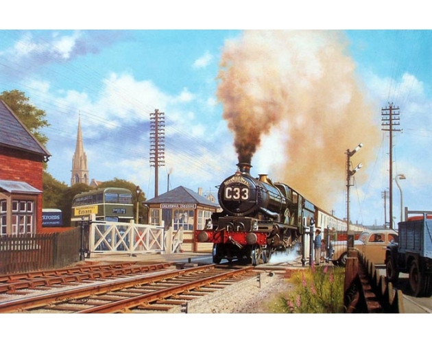 The Cornishman at Gloucester by Eric Bottomley