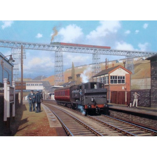 Ebbw Valley Steam - Crumlin by Eric Bottomley