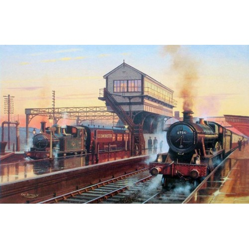 Departures at Leominster by Eric Bottomley