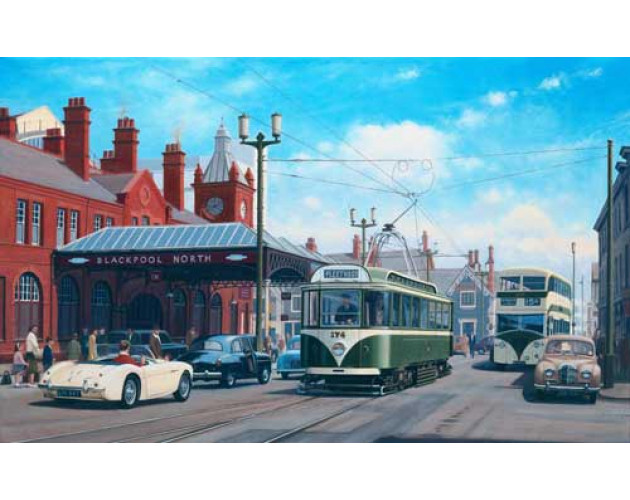 Destination Fleetwood - Blackpool by Eric Bottomley