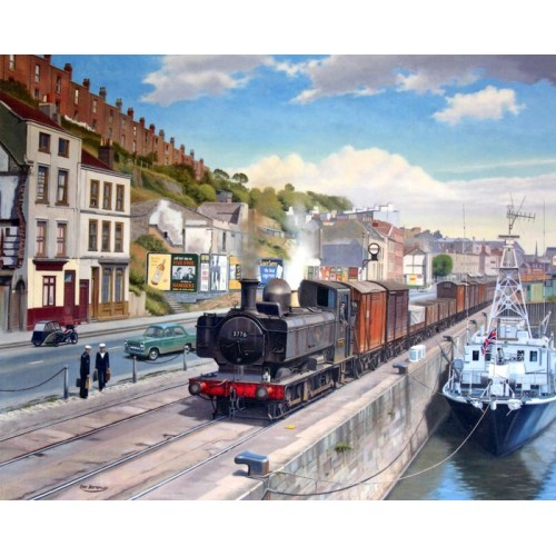 Hotwells Road - Bristol by Eric Bottomley