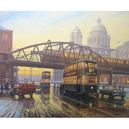 Sunsets on the Overhead by Eric Bottomley