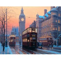 Faithful Servants - London Trams by Eric Bottomley