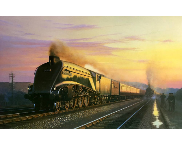 Streaks of Evening by Eric Bottomley