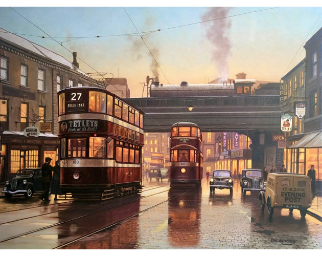 Twilight of the Trams by Eric Bottomley