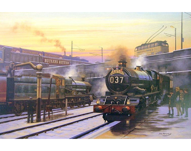 When Steam Was King by Eric Bottomley