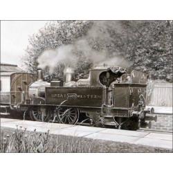 Brinkworth Station by Frederick J Taylor