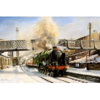 The Thames Clyde Express by Geoffrey Knight