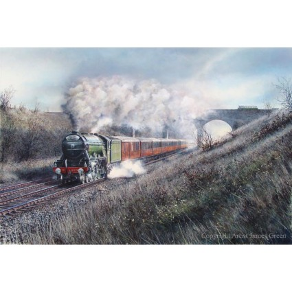 LNER 4472 Flying Scotsman by James Green