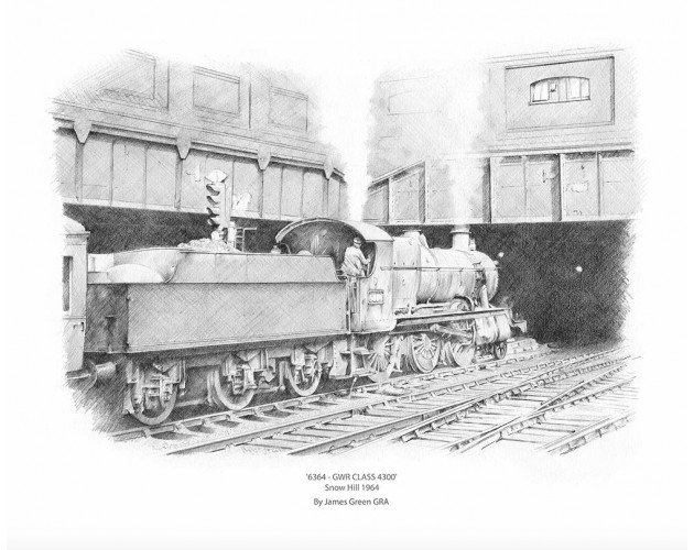 6364 - GWR class 4300 by James Green