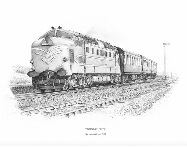 Prototype Deltic by James Green