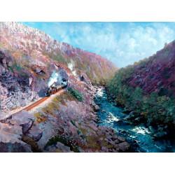 Aberglaslyn Pass by John Austin