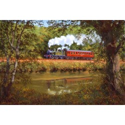 Autumn Along the Dart by John Austin