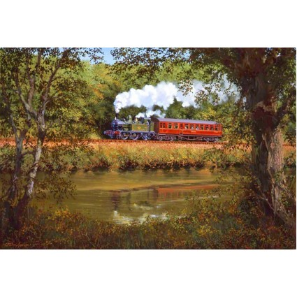 Autumn Along the Dart by John Austin