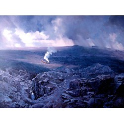 Climbing to Princetown by John Austin