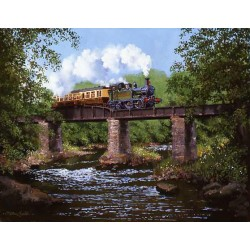 Crossing The Dart by John Austin