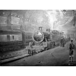 Train Spotter at New Street by Kevin Parish