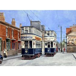 Birmingham Trams by Malcolm Davies