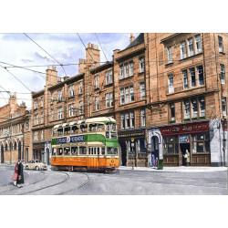 Glasgow Tram by Malcolm Davies