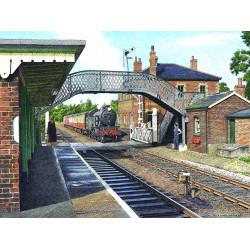 Brundall Station by Nick Hardcastle