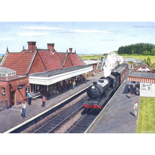 Weybourne Station by Nick Hardcastle