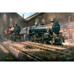 Black 5 at Bristol by Philip D Hawkins