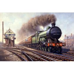 Clear Road Through Retford by Philip D Hawkins