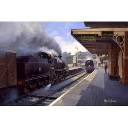 Crossing at Crediton by Philip D hawkins