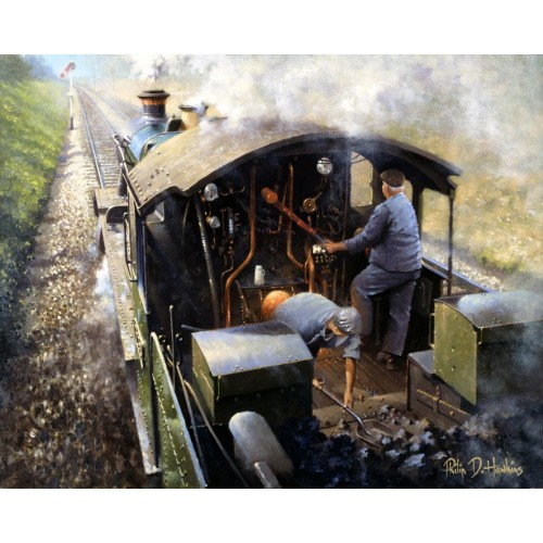 Footplate by Philip D Hawkins