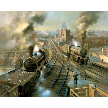 Freight Across the Tyne by Philip D Hawkins