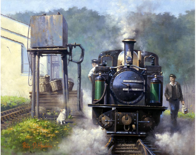 Incident at Porthmadog by Philip D Hawkins