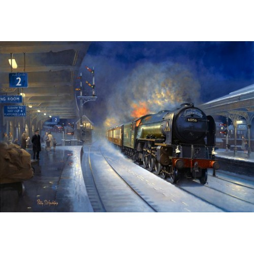 Roaring Through Retford by Philip D Hawkins